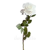 Роза интерьерная белая, 72 см