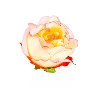 """Голова розы """"Бутон чайный"""", d9 см"""