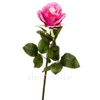 Роза интерьерная ярко-розовая, 72 см