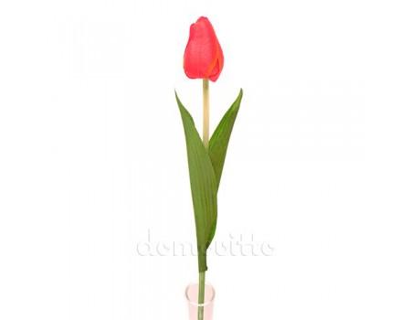 Тюльпан искусственный одиночный, 64 см. Разные цвета