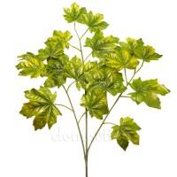 Ветка клена светло-зеленая, 70 см