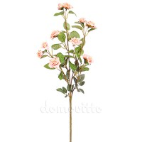 Ветка розы с мелкими цветами, 72 см. Цвет: Розовый