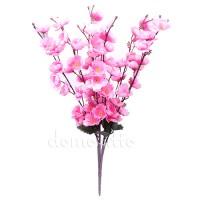 Ветка в цветах весенняя, 60 см. Разные цвета