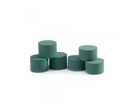 Пена Oasis Мини-цилиндр для живых цветов, 6x8 см
