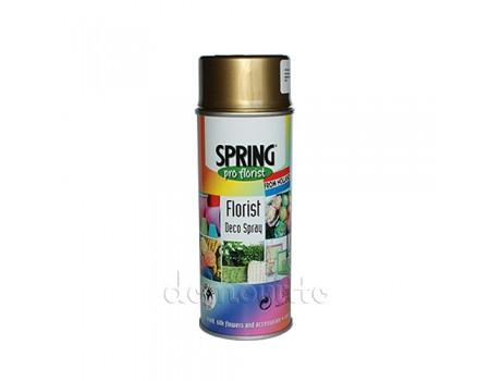 Краска Spring Deco Spray золотая, 400 мл