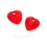 "Подвеска кристалл ""Сердце"", 3 см"