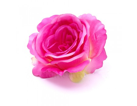 """Голова розы """"Бутон малиновый"""", d10 см"""