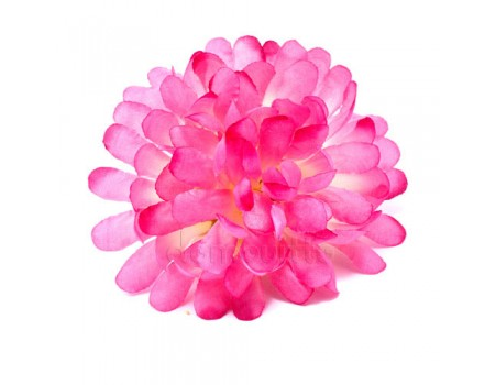 """Голова хризантемы """"Шар"""" розовая, d12 см"""