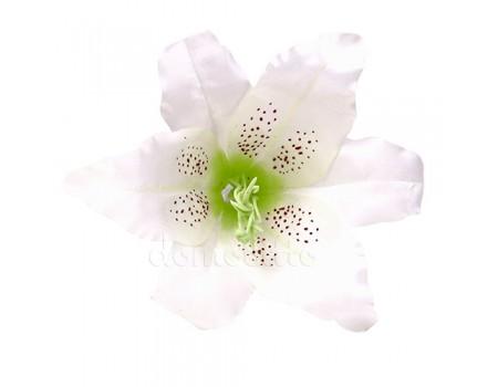 Голова лилии крупная белая, d17 х H12 см