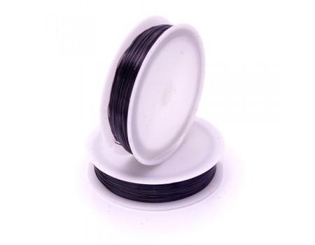 Проволока черная 0,4 мм, 50 м