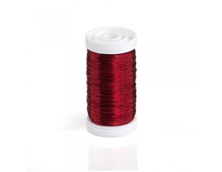 Проволока красная 0,3 мм, 100 гр