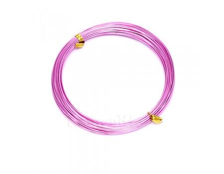 Проволока розовая 1 см, 10 м