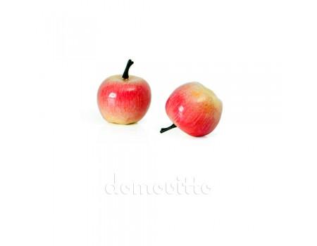Яблочко мини розовое, 3,5 см