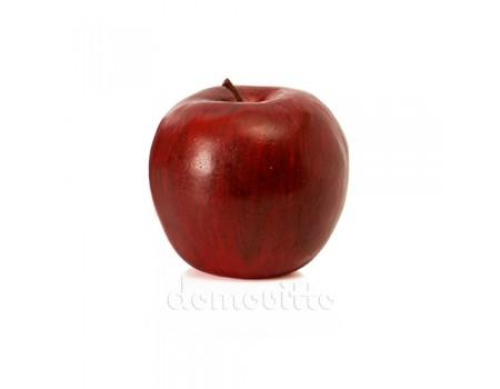 Яблоко большое темно-красное, 8 см