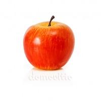Яблоко большое красно-желтое, 8 см