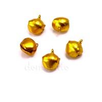 Бубенчики золотистые в наборе d1,2 см, 5 шт
