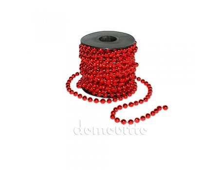 Гирлянда в катушке, 10 м. Цвета: Красный, Серебряный, Золотой