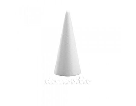 Конус из пенопласта d6,5xh15 см