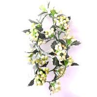 """Искусственная лиана """"Зимняя с белыми ягодами"""", 1,8 метра"""