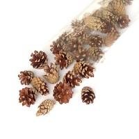 Шишки мелкие сосновые, 30 шт