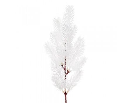 Ветка еловая белая, 50 см