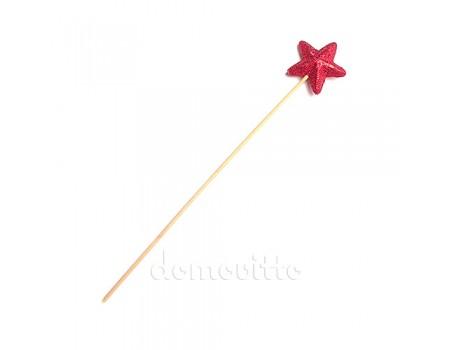 """Палочка феи"", звезда на вставке, 30 см. Разные цвета"