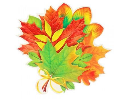 """Декор на стену """"Букет осенних листьев"""", 30 см"""