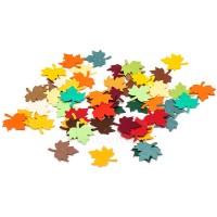 """Вырубка из цветной бумаги """"Кленовые листья мини"""", 1,6 см"""