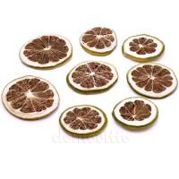 Сушеные дольки апельсина зеленого, 10 шт