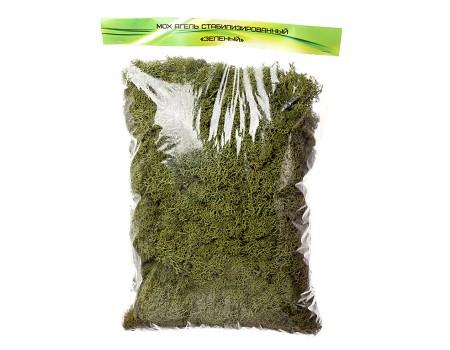 Мох ягель зеленый, 400 гр