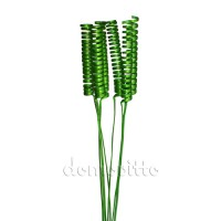 Сухие ветки кейн спринг зеленые, 6 шт