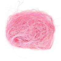 Сизаль розовый, 25 гр. Два оттенка