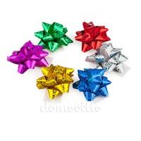 Бантик для подарков, 4 см. Разные цвета