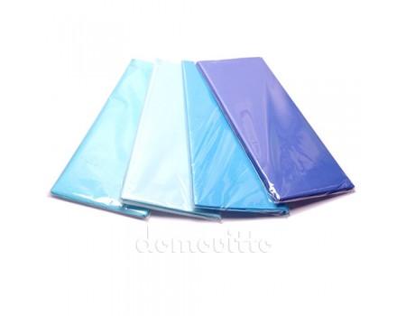 Бумага тишью 50х66 см, 10 листов. Сине-голубые оттенки