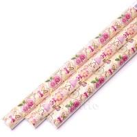 """Упаковочная бумага """"Для девочек"""" (70 см, рулон 10 м)"""